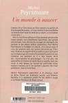Michel PEYRAMAURE - Un monde à sauver