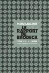 Manu Larcenet - LE RAPPORT DE BRODECK T.1