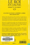 Robert W. CHAMBERS - Le Roi en jaune