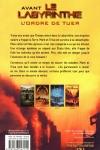 James DASHNER - L'épreuve T.4 : L'ordre de tuer