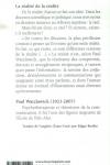 Paul WATZLAWICK - La réalité de la réalité