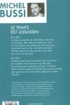 Michel BUSSI - LE TEMPS EST ASSASSIN