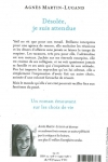 Agnès MARTIN-LUGAND - DESOLÉE, JE SUIS ATTENDUE