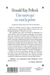 Donald Ray POLLOCK</br>UNE MORT QUI EN VAUT LA PEINE