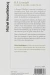 Michel Houellebecq - H. P. LOVECRAFT : CONTRE LE MONDE, CONTRE LA VIE