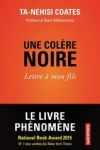 Ta-Nehisi Coates - UNE COLÈRE NOIRE