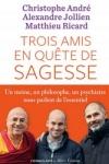 C. André, A. Jollien & M. Ricard - TROIS AMIS EN QUÊTE DE SAGESSE