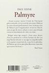 Paul VEYNE - PALMYRE L'IRREMPLAÇABLE TRÉSOR