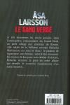 Asa LARSSON</br>LE SANG VERSÉ (Série Rebecka Martinsson T.2)