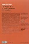 Elena FERRANTE</br>CELLE QUI FUIT ET CELLE QUI RESTE (L'Amie Prodigieuse T.3)
