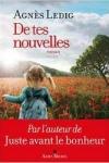 Agnès LEDIG</br>DE TES NOUVELLES