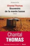 Chantal THOMAS</br>SOUVENIRS DE LA MARÉE BASSE