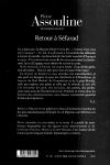 Pierre ASSOULINE</br>RETOUR À SÉFARAD