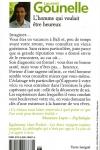 Laurent GOUNELLE</br>L'HOMME QUI VOULAIT ÊTRE HEUREUX