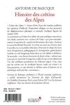 Antoine de Baecque -<br>HISTOIRE DU CRÉTIN DES ALPES