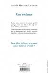 Agnès MARTIN-LUGAND</br>UNE ÉVIDENCE