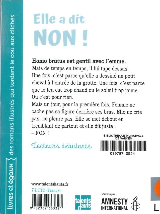 LEROY Hélène<br/>ELLE A DIT NON
