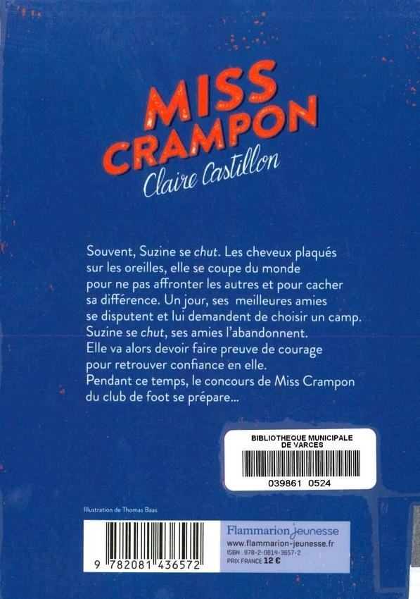 CASTILLON Claire<br/>MISS CRAMPON