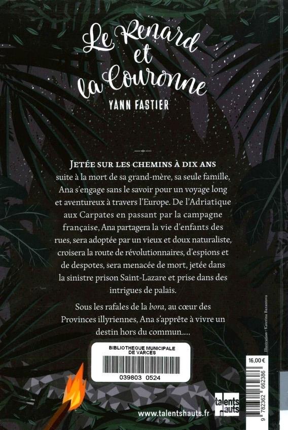FASTIER Yann<br/>RENARD ET LACOURONNE (LE)