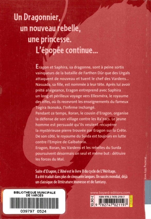 PAOLINI Christophe<br/>HÉRITAGE T.2