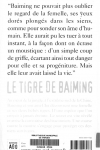 Pascal VATINEL Le tigre de Baiming
